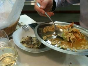 Da noi due - Ravioli funghi, risotto pescatora