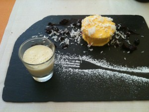 Arancere - Mousse vaniglia cioccolato