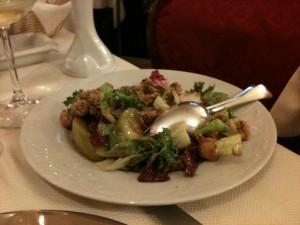 Antica Hostaria - Polpo fritto