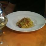 Luigi Pomata - Tagliatelle zucchine gamberi