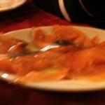 La Damigiana - Carpaccio di salmone