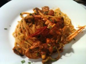 Spaghetti su Zaffaranu