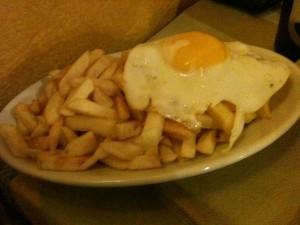 El Sabor Argentino - Papas fritas a caballo