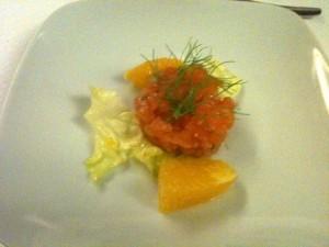 Semplicemente - Tartara di salmone