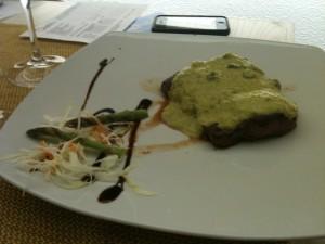 Gusto Bio - Entrecote in salsa d'asparagi