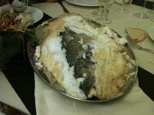 Sa Prenda - Spigola in crosta di sale