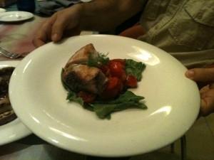 T Restaurant - Scaloppa di pesce spada