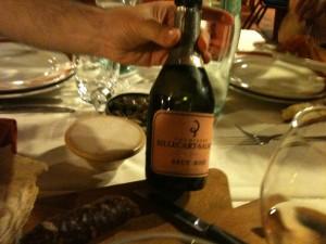 Sa Cardiga e Su Schironi - Champagne Bottiglia