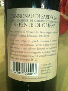 Sa Domu Sarda - Nepente D'Annunzio