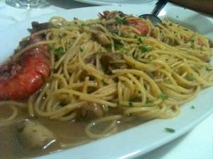 Non Rispondere - Spaghetti gamberi funghi porcini
