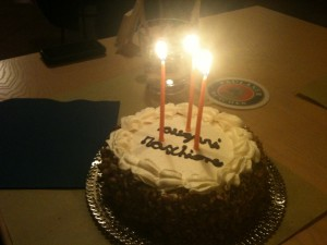 Palinka - Torta di compleanno