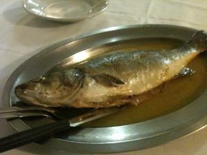 Dal Pescatore - Spigola al forno