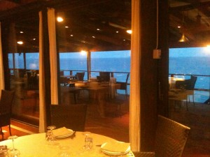 Lo Scoglio - Interno, terrazza sul mare