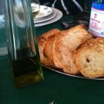 Sa Tuedda - Bruschette olio Dolianova