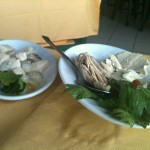 La Marinella - Tonno con uva passa, Pesce spada