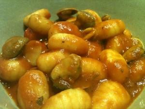 Officine di Hermes - Gnocchi di patate allo scoglio