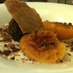 Lisboa - Fantasia di pesca, cioccolato yogurt