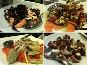 Al Cavour - Salmone, tonno, polpo