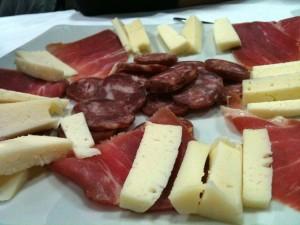 Fenice bianca - Salumi e formaggio