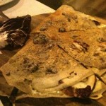 Assommoir - Galette radicchio e formaggio