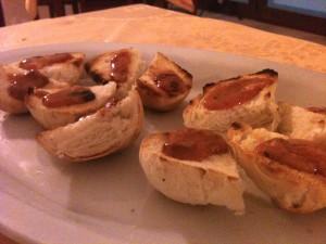 Boheme - Crostini ai ricci