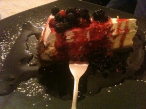Oca Bianca - Cheese cake frutti di bosco