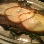 Oca Bianca - Tagliata di filetto con provola e rucola