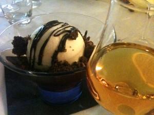 Show Kitchen - Gelato al pistacchio cioccolato amarene