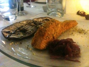 Show Kitchen - Salmone in crosta di pistacchi