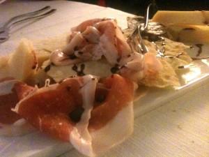 Show Kitchen - Tagliere salumi formaggi