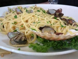 Kiwi - Spaghetti alle arselle