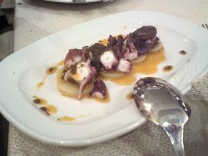 Su Ziru - Polpo con patate e miele
