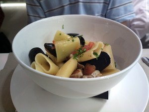 Villanova - Paccheri cozze vongole