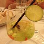 Taras - Ostrica in gel prosecco clubber di verdure
