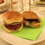 Taras - Lamb burger e Panino con anguilla caramellata