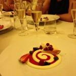 Taras - Mousse di cioccolato bianco con gelato al melone
