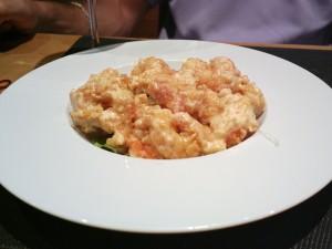 Tao - Tempura di gamberi in salsa piccante