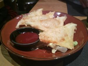Tao - Wanton fritti con gamberi e branzino