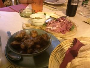 Taverna Marina - Tagliere cinghiale