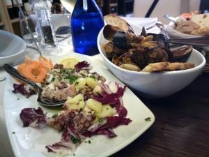 Cronta - Polpo e Zuppetta cozze arselle
