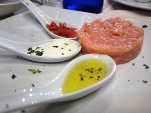 Cronta - Tartare di salmone