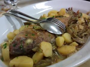 Mondo e Luca - Parago carciofi patate