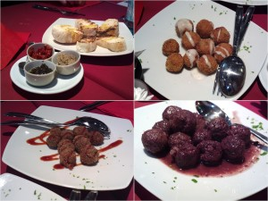 Red Steakhouse - Bruschette e polpette