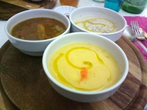 Zupposofia - Tris di zuppe