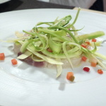 Is Fradis beach - Ceviche di cefalo
